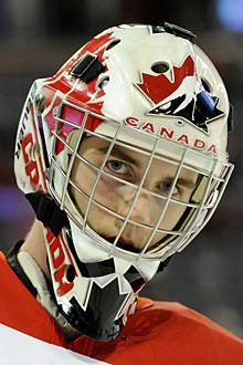 Team Canada goalie Scott Wedgewood says he's playing his best of his career so far
