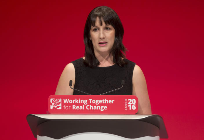 Shadow cabinet office minister Rachel Reeves confirmed the boycott on Sunday. (PA)