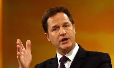Nick Clegg Wants Super-Rich To Pay More Tax