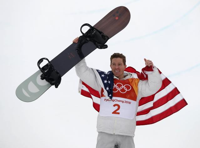 <p>Shaun White delivers dramatic finish to win third Olympic gold medal in halfpipe. REUTERS/Issei Kato </p>