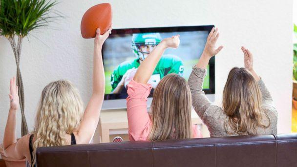 PHOTO: An undated stock photo of women watching a football game.  (STOCK PHOTO/Getty Images)