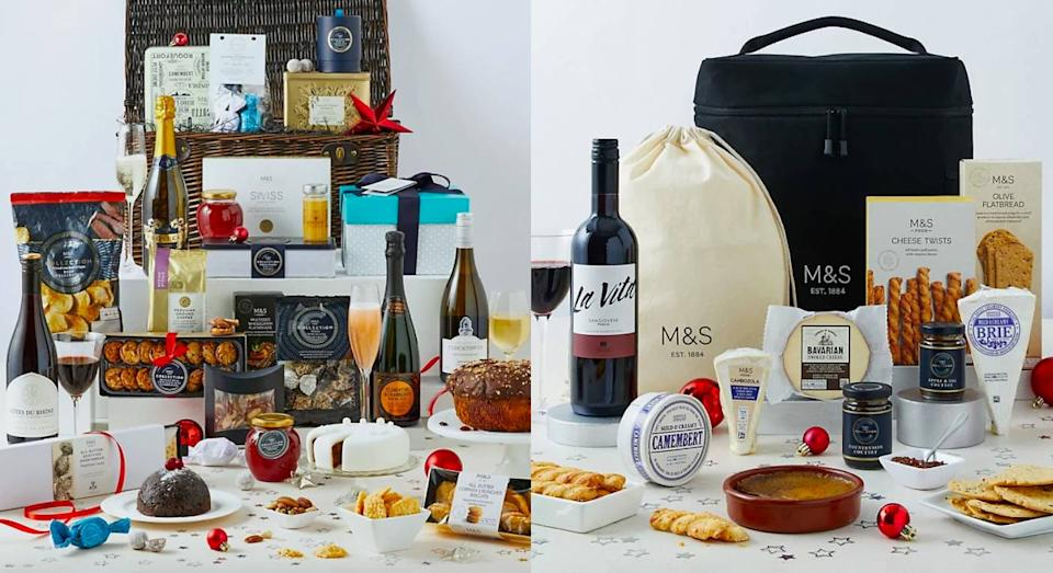 The best Marks & Spencer hampers to order now before they sell out. (Marks & Spencer)