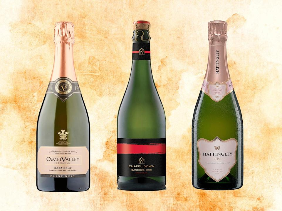 From Chapel Down to Nyetimber, we've worked our way through the most popular brands (iStock/The Independent)