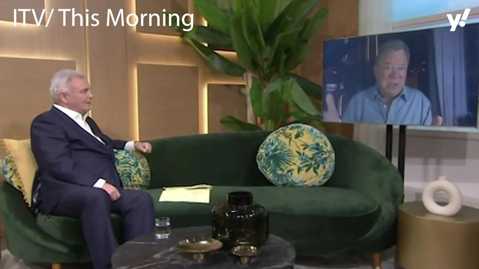 <p>Star Trek legend William Shatner appeared on ITV's This Morning to promote his new show 'I Don't Understand', and viewers found his interactions with host Eamonn Holmes rather funny after Shatner praised the presenter's