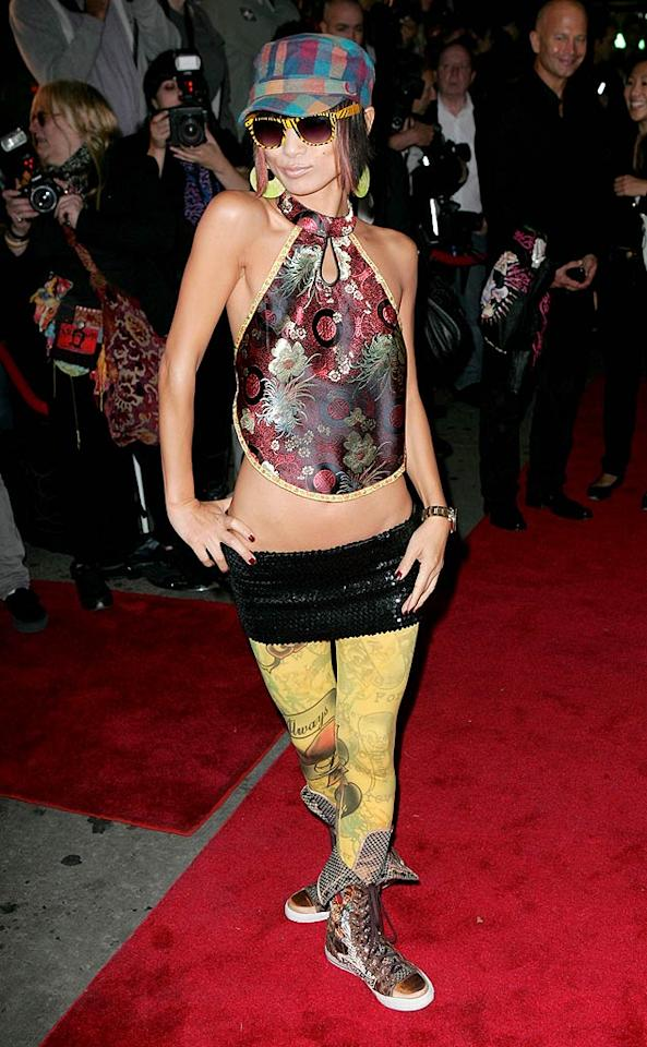 "Thanks to this getup, Bai Ling was just begging to be in this week's gallery. T/<a href=""http://www.x17online.com"" target=""new"">X17 Online</a> - October 8, 2009"