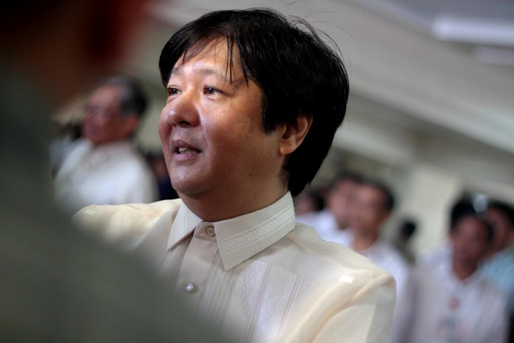Senator Ferdinand 'Bongbong' Marcos Jr. says Aquino should give a firm stance on PH's territorial row with China.