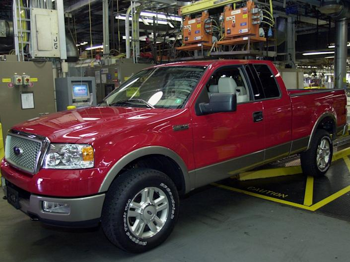 2004 Ford F 150.