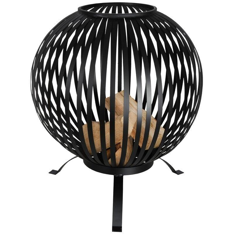 <p>Give your outdoor area a whole new look when you add this <span>Striped Steel Wood Burning Fire Pit</span> ($174, originally $210) to the mix.</p>