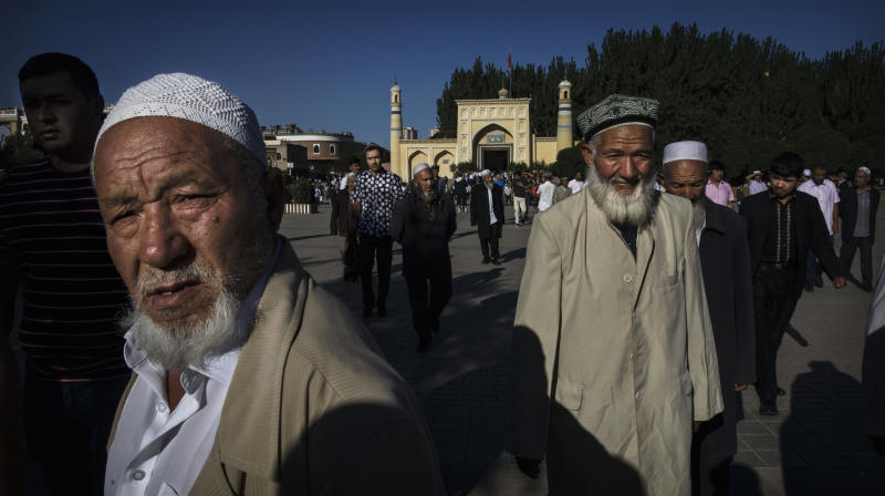 U.S. Considers Sanctioning Chinese Officials Over Detention Of Muslims: Report