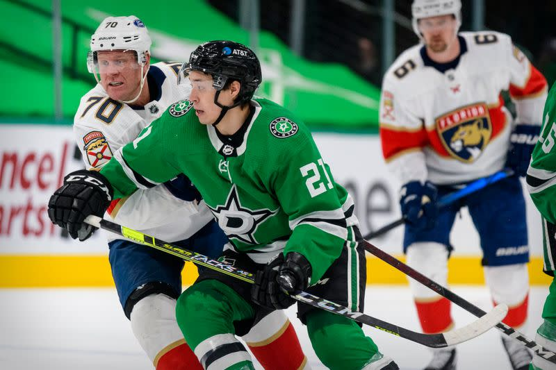 NHL: Florida Panthers at Dallas Stars