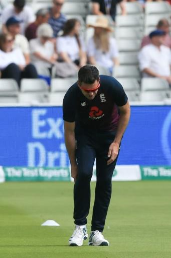 England's James Anderson bowled just four overs in the first Ashes Test due to a calf injury