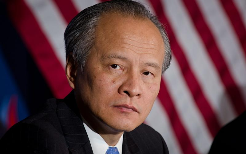 Cui Tiankai says his concerns are shared by other diplomats - Public Domain