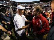 Pruitt: 'This is probably the best Alabama offense that I've ever seen'