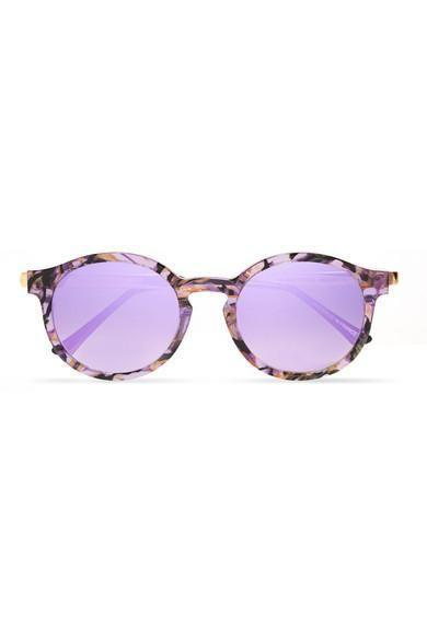 Wear your shades in this season's It color—lilac.