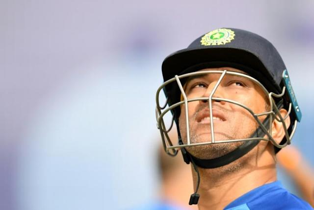 Dhoni has not appeared for club or country since the World Cup and the veteran wicketkeeper-batsman has been expected to announce his retirement for some time (AFP Photo/Dibyangshu SARKAR)