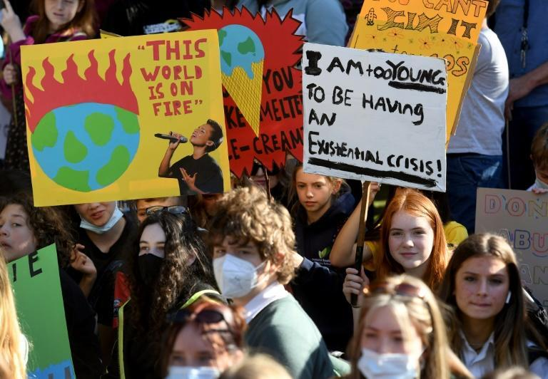Protests were held across Australia to urge the government to do more to tackle climate change