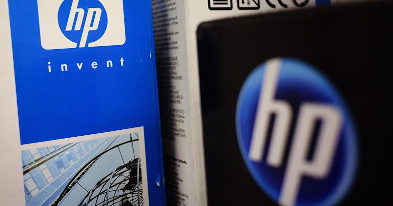 HP shares climb after mixed earnings report