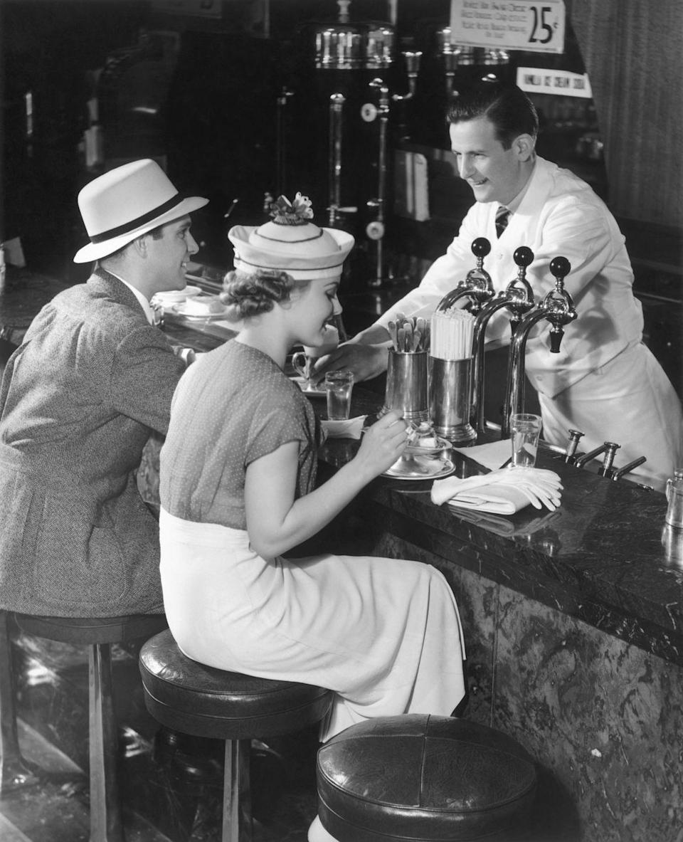 <p>During the Prohibition era, the soda fountain and ice cream parlors filled a void for patrons since bars were shut down. Once bars reopened, the appeal for these replacements diminished.</p>