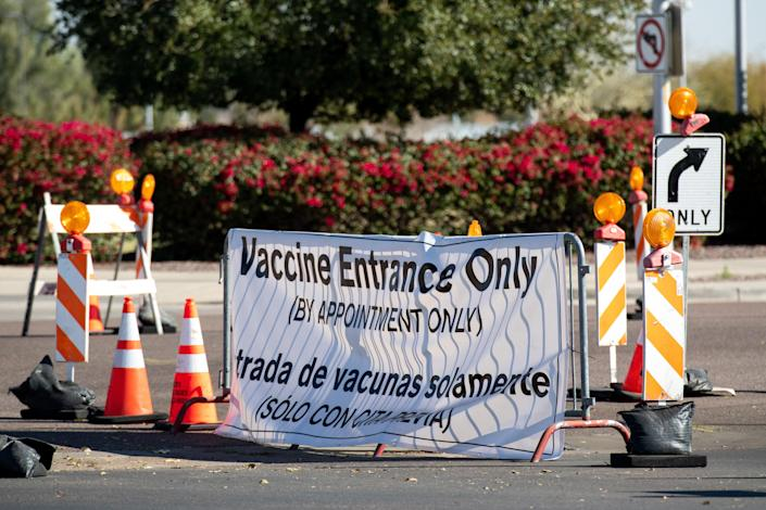 <p>Gila County, Arizona, has opened up vaccine eligibility to the general population </p> (Getty Images)