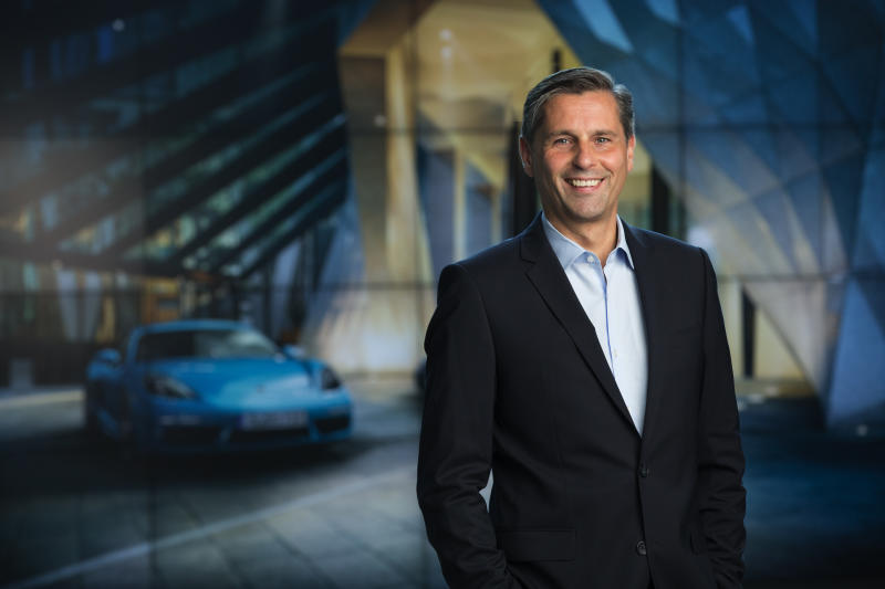 Klaus Zellmer, president and CEO of Porsche North America. Credit: Porsche AG