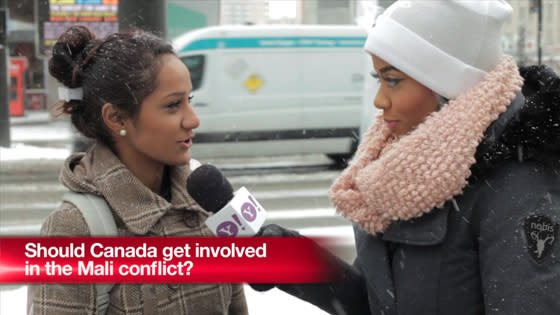 Should Canada get involved in the Mali conflict?