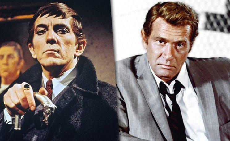 'Dark Shadows' and 'Kolchak: The Night Stalker' (Credit: Everett Collection)