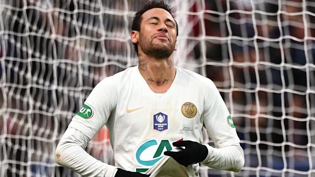 A statement released by the Ligue 1 champions condemns the Brazilian, but his father has disputed the club's claims