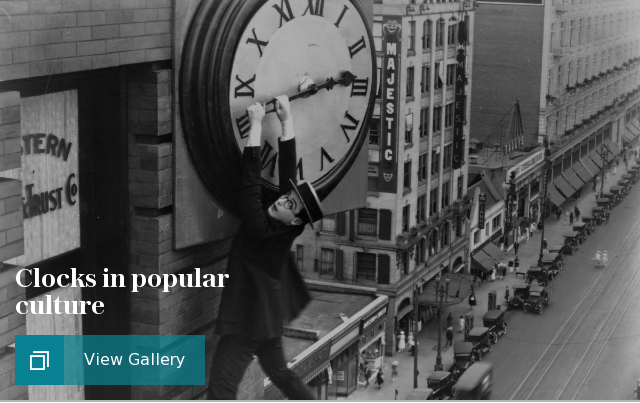 Clocks in popular culture