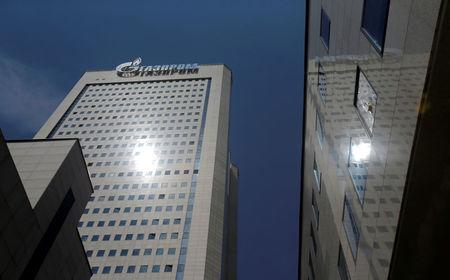FILE PHOTO: A general view shows the headquarters of Russian gas giant Gazprom in Moscow, Russia June 30, 2016. REUTERS/Maxim Shemetov/File Photo