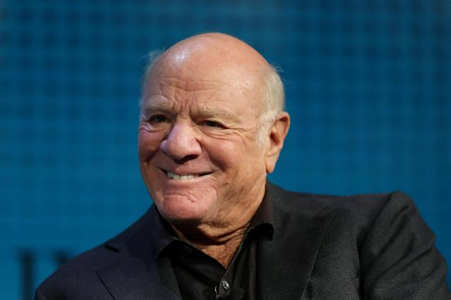 Barry Diller, chairman and senior executive of IAC/InterActiveCorp and Expedia, Inc., smiles at the Wall Street Journal Digital Conference in Laguna Beach, California, U.S., October 17, 2017. REUTERS/Mike Blake