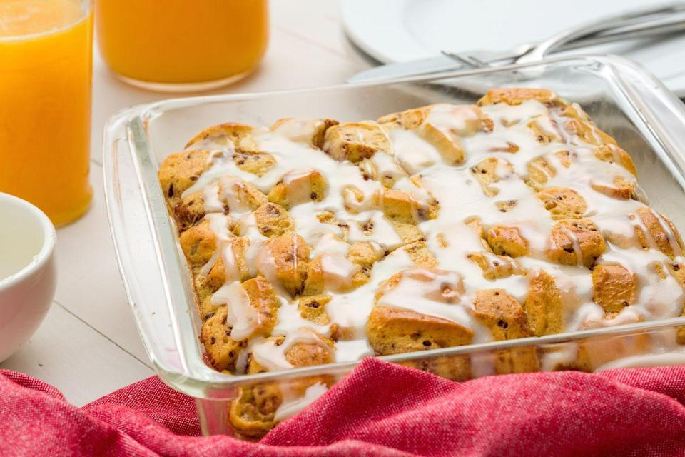 """<p>You'll thank us for this shortcut way to serve cinnamon rolls to the whole fam.</p><p>Get the recipe from <a href=""""https://www.delish.com/cooking/recipe-ideas/recipes/a45034/cinnamon-roll-casserole-recipe/"""" rel=""""nofollow noopener"""" target=""""_blank"""" data-ylk=""""slk:Delish"""" class=""""link rapid-noclick-resp"""">Delish</a>.</p>"""
