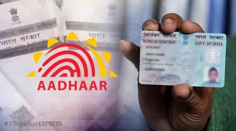 pan-aadhaar linking, pan card it department, pan aadhaar card linking deadline, biometric id, cbdt, income tax act, business news, indian express
