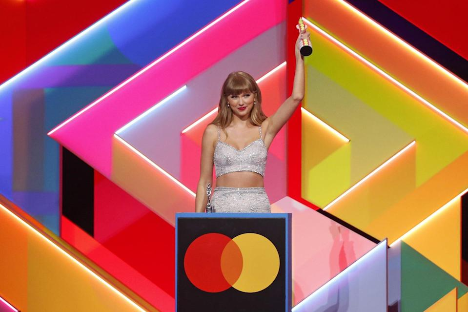 Taylor Swift The BRIT Awards 2021
