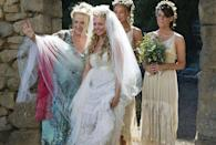 <p>Ugh, doesn't this dress (and this ensemble cast) just make you want to run away to a Greek island for the summer? </p>