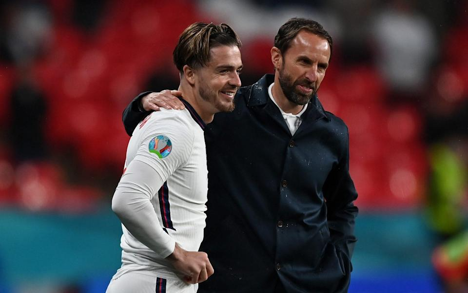 Grealish comes on in the second-half - Getty Images