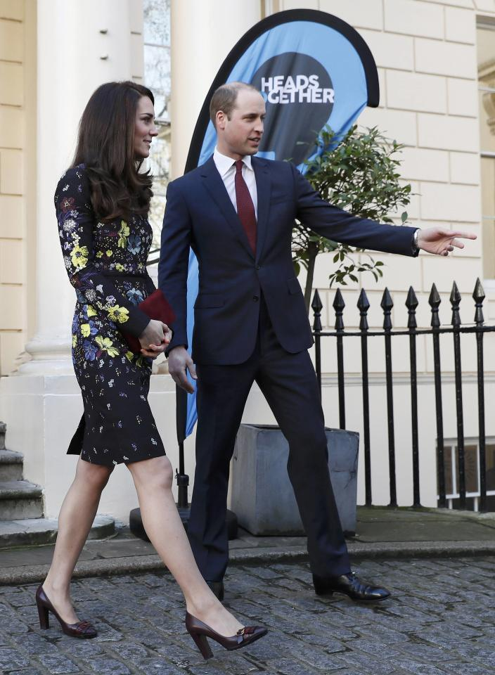 Britain's Prince William and Kate Duchess of Cambridge leave the Institute of Contemporary Arts in central London, Britain January 17, 2017. REUTERS/Stefan Wermuth
