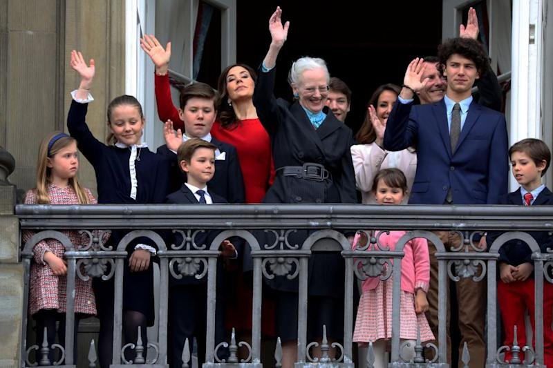 Noticeably absent fro the picture was Princess Mary's husband, Prince Frederik. Photo: Getty Images