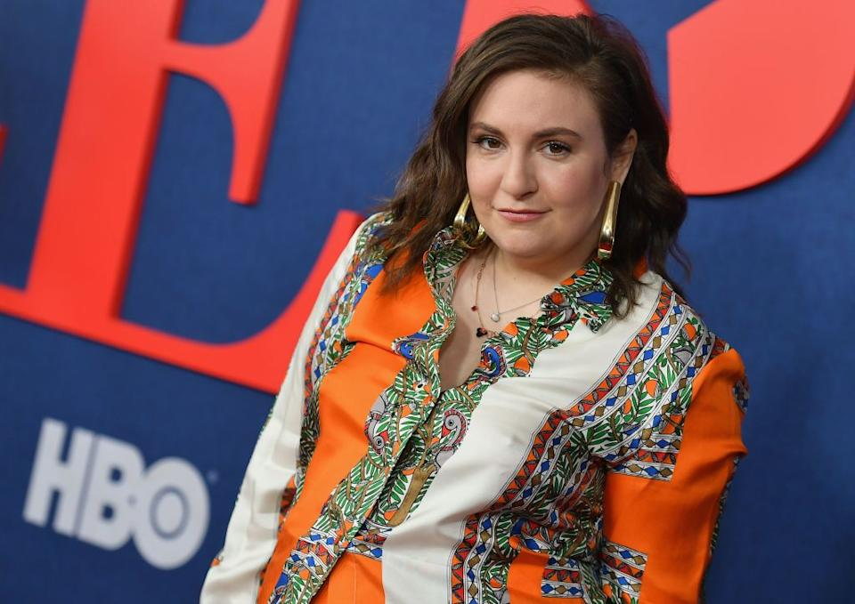 Lena Dunham supports HBO on March 26 at Lincoln Center in NYC. (Photo: Angela Weiss/AFP/Getty Images)