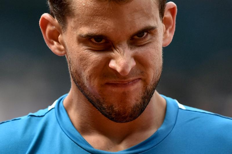 Thiem was beaten by Nadal in four sets in the Roland Garros final