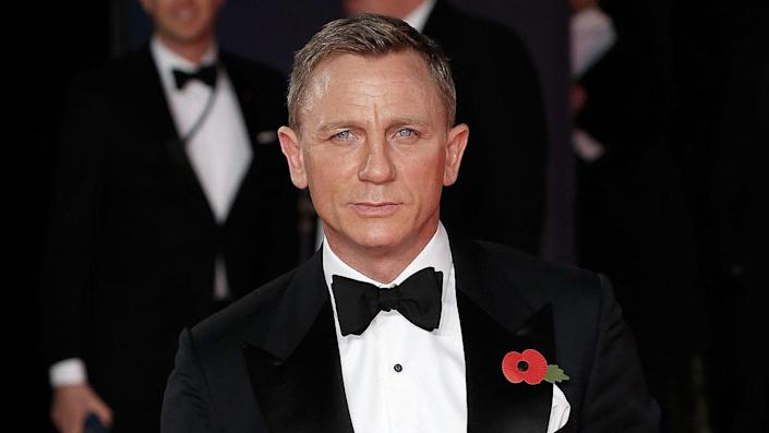 """Daniel Craig was appointed to the Royal Navy as a honorary member. The Royal Navy and Ministry of Defence helped in the production of the upcoming James Bond film, 'No Time To Die.' <span class=""""copyright"""">Photo by John Phillips/Getty Images</span>"""