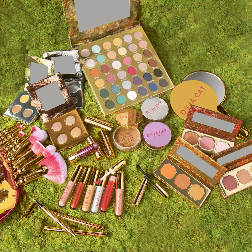 A closer look at Doja Cat's makeup line with BH Cosmetics. - Credit: Courtesy of BH Cosmetics