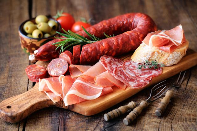 Salami, parma ham and chorizo have long carried a cancer risk. [Photo: Getty]