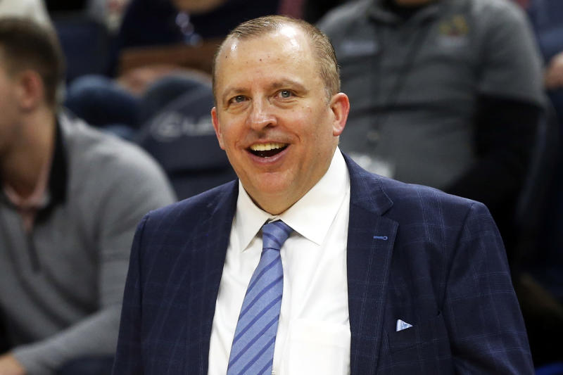 Knicks bring Tom Thibodeau back to New York as new coach