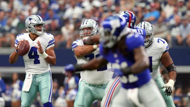 The second season for Cowboys quarterback Dak Prescott and running back Ezekiel Elliott will begin at home against a division rival.