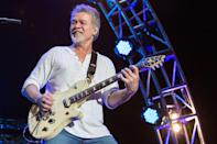 "<p>The Van Halen guitarist <a href=""http://deadline.com/2020/10/eddie-van-halen-dead-guitar-legend-van-halen-1234592404/"" class=""link rapid-noclick-resp"" rel=""nofollow noopener"" target=""_blank"" data-ylk=""slk:died of cancer"">died of cancer</a> in October. He was 65.<br></p>"