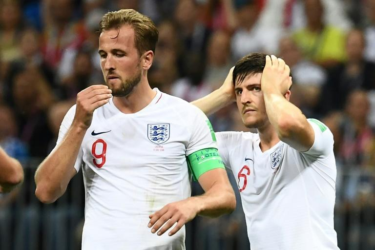 More to come: Harry Kane sees a bright future for England despite losing in the World Cup semi-finals to Croatia