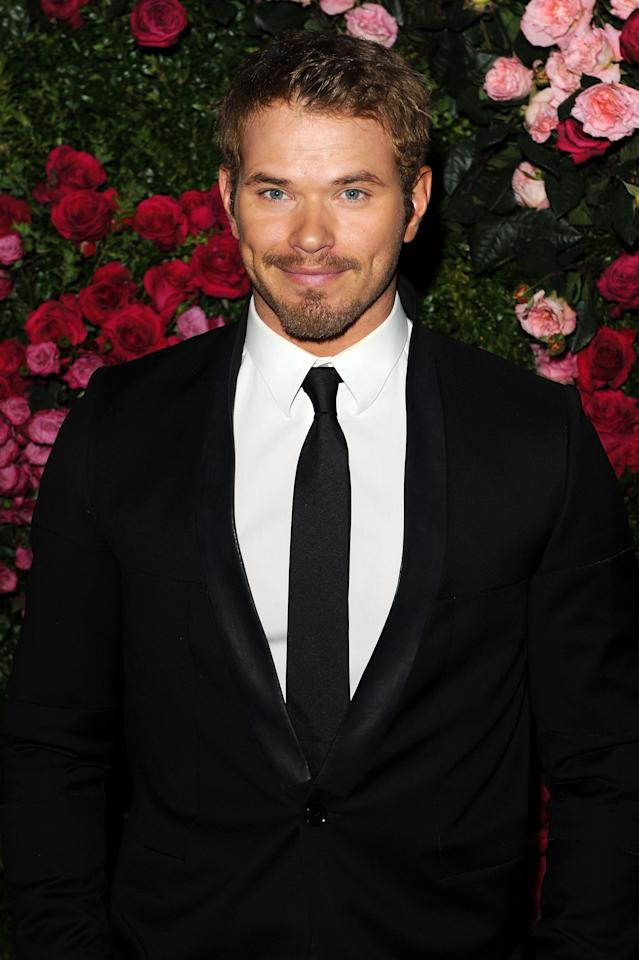 NEW YORK, NY - APRIL 24:  Actor Kellan Lutz attends the Chanel Artist Dinner during the 2012 Tribeca Film Festival at the The Odeon on April 24, 2012 in New York City.  (Photo by Craig Barritt/Getty Images)