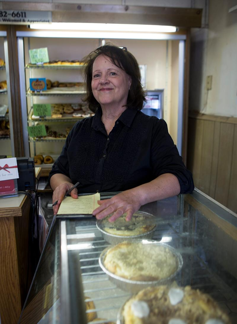 Elaine Clarke, manager of Schneider's Bakery in Westerville shares how the business is preparing for the upcoming democratic debate being hosted in Westerville at Otterbein University. Foster who