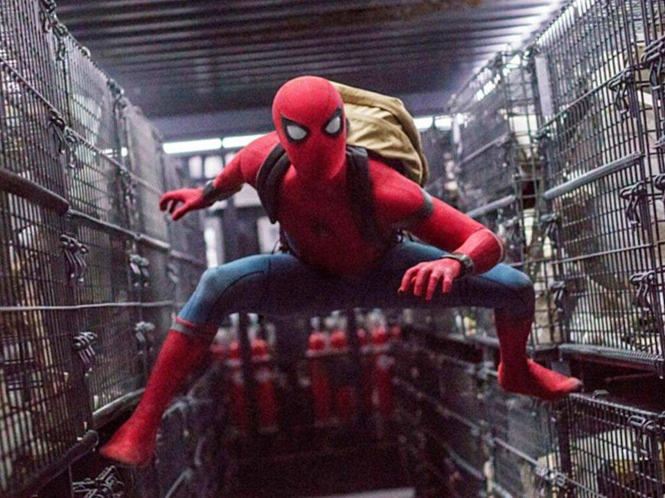 """Tom Holland in """"Spider-Man: Homecoming"""". (Bild: imago images/Everett Collection)"""