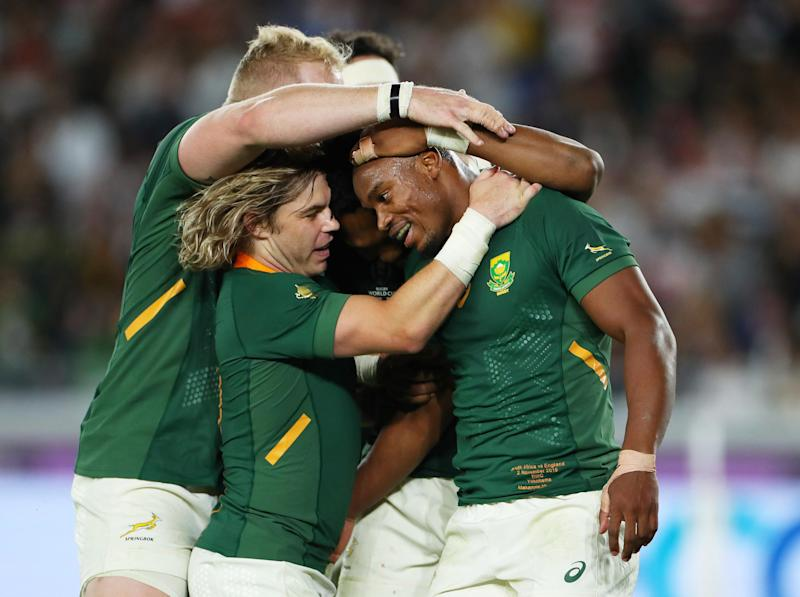 South Africa have won the Rugby World Cup final: Getty